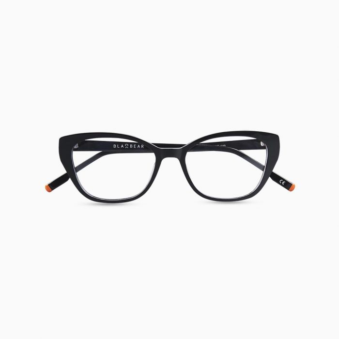 Gafas de acetato para mujer marca BLACKBEAR EYEWEAR modelo BB110 (foto frontal)