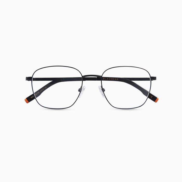Gafas de metal para hombre marca BLACKBEAR EYEWEAR modelo BB207 (foto frontal)