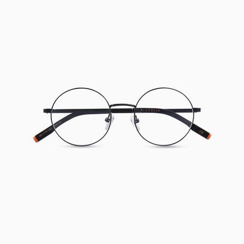 Gafas de metal para hombre marca BLACKBEAR EYEWEAR modelo BB208 (foto frontal)