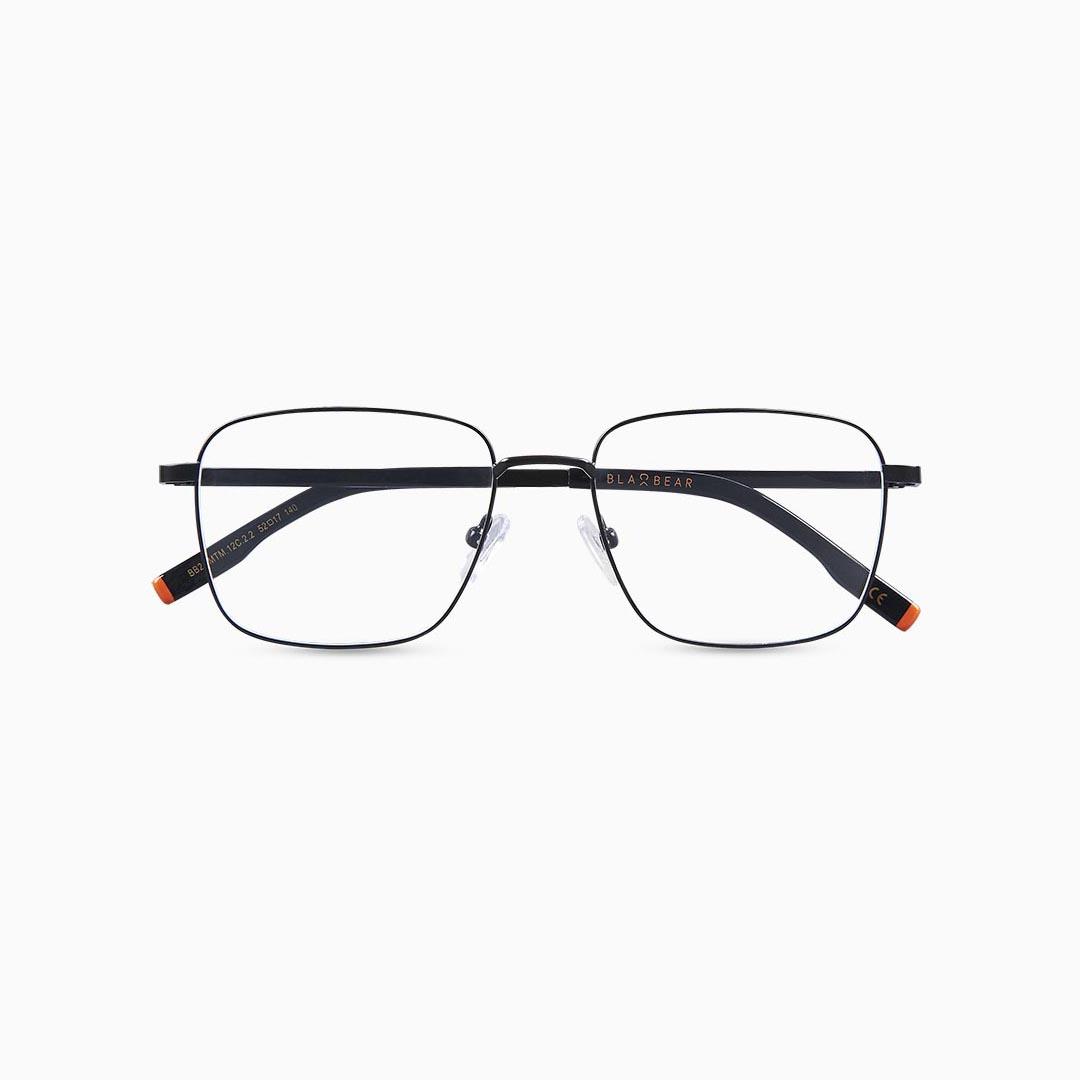 Gafas de metal para hombre marca BLACKBEAR EYEWEAR modelo BB209 (foto frontal)