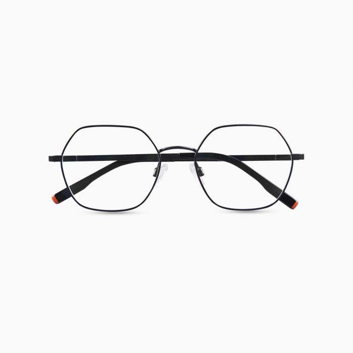 Gafas de metal para mujer marca BLACKBEAR EYEWEAR modelo BB201 (foto frontal)
