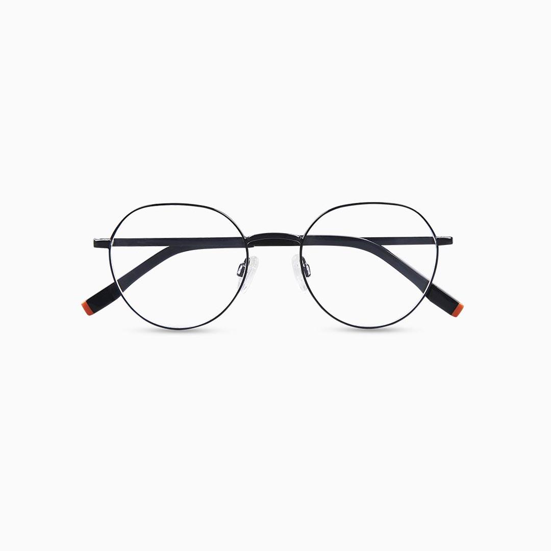 Gafas de metal para mujer marca BLACKBEAR EYEWEAR modelo BB202 (foto frontal)