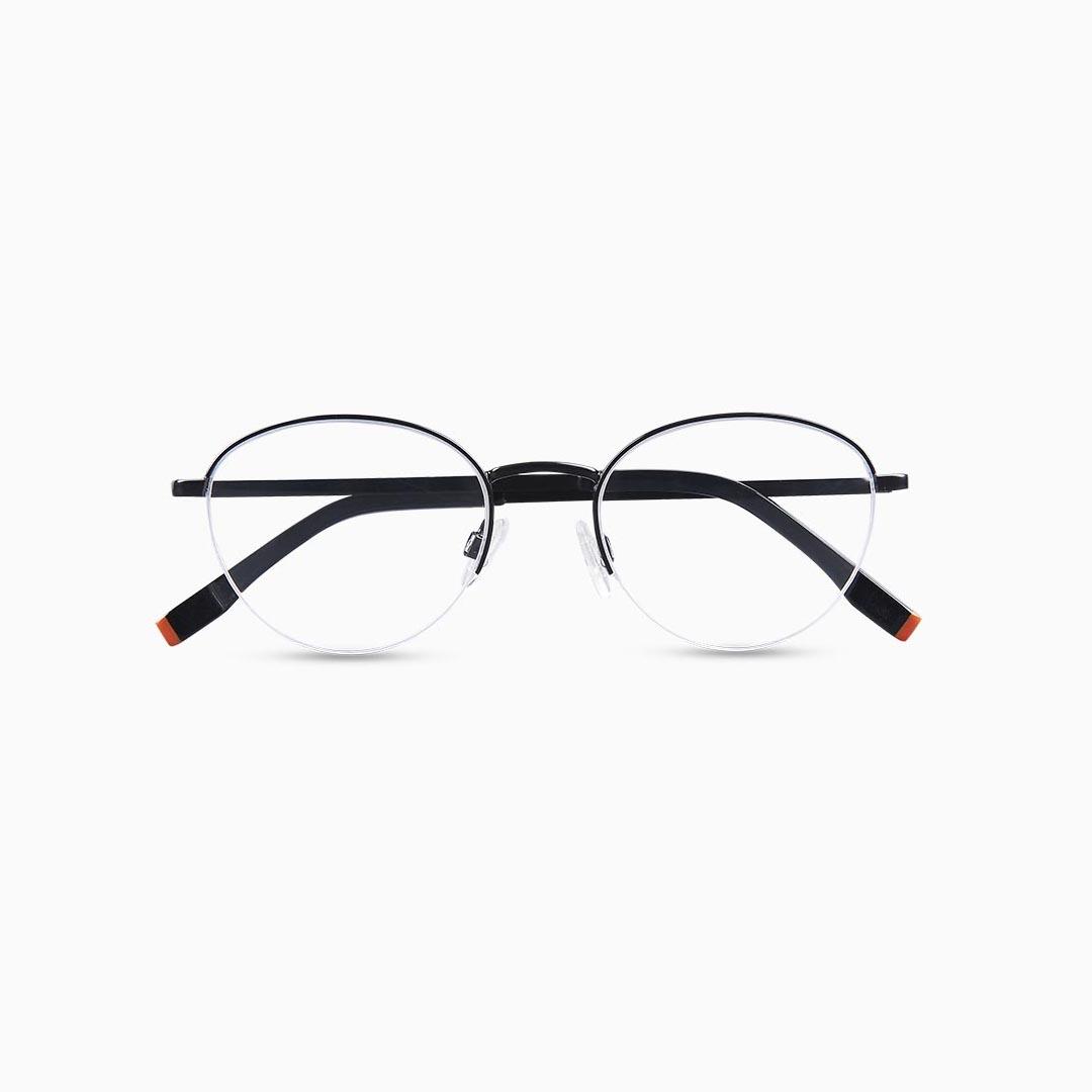 Gafas de metal para mujer marca BLACKBEAR EYEWEAR modelo BB203 (foto frontal)