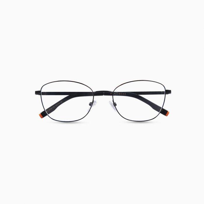 Gafas de metal para mujer marca BLACKBEAR EYEWEAR modelo BB205 (foto frontal)