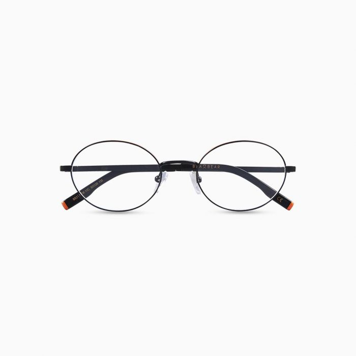 Gafas de metal para mujer marca BLACKBEAR EYEWEAR modelo BB206 (foto frontal)